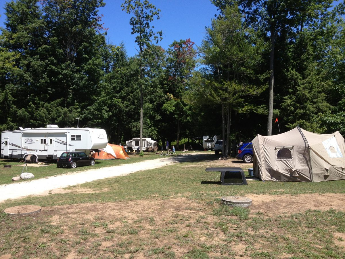 Campground Val Du Lakes Resort Silver Lake Mears